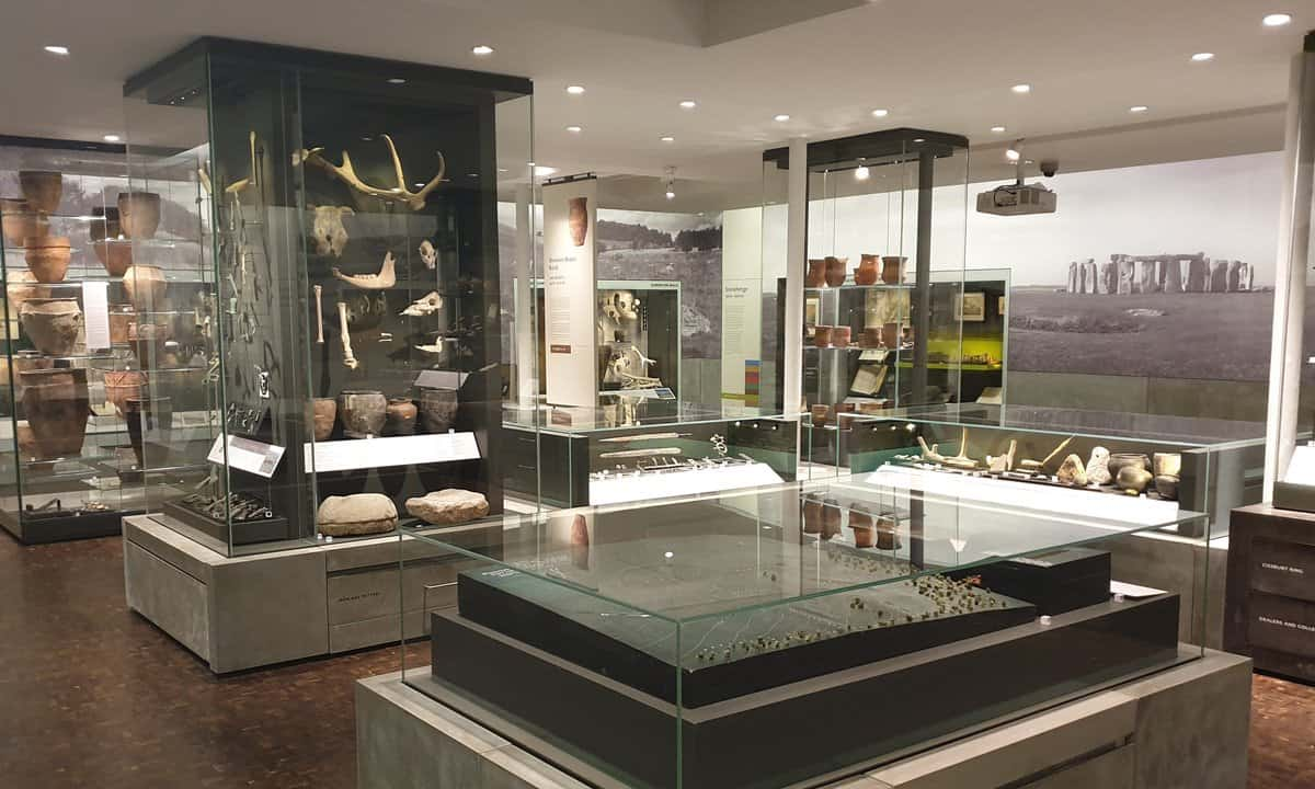 The prehistory section of the Archaeology of Wessex Gallery.