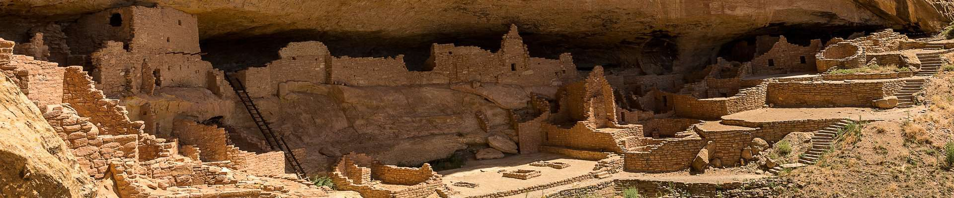 The so-called Long House at Mesa Verde National Park, USA.