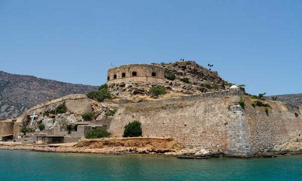 The Venetian fort on the island of Spinalonga.