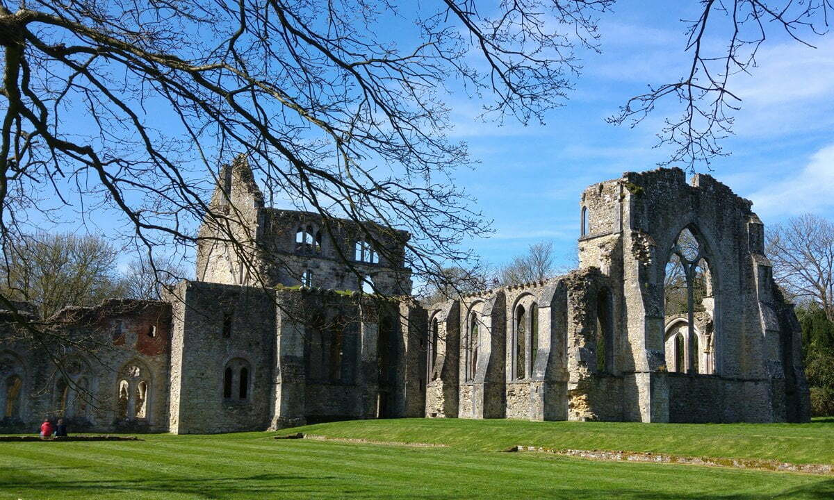 The ruins of Netley Abbey, in Hampshire.