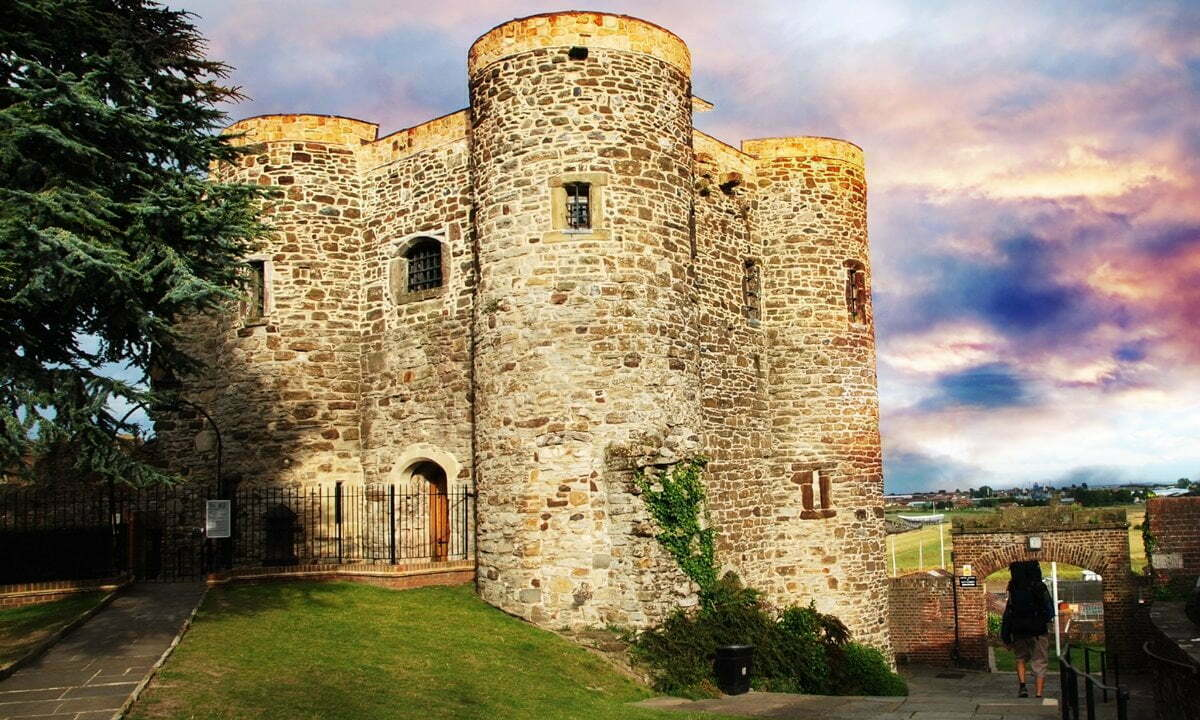 The Rye Castle, also known as Ypres Tower.