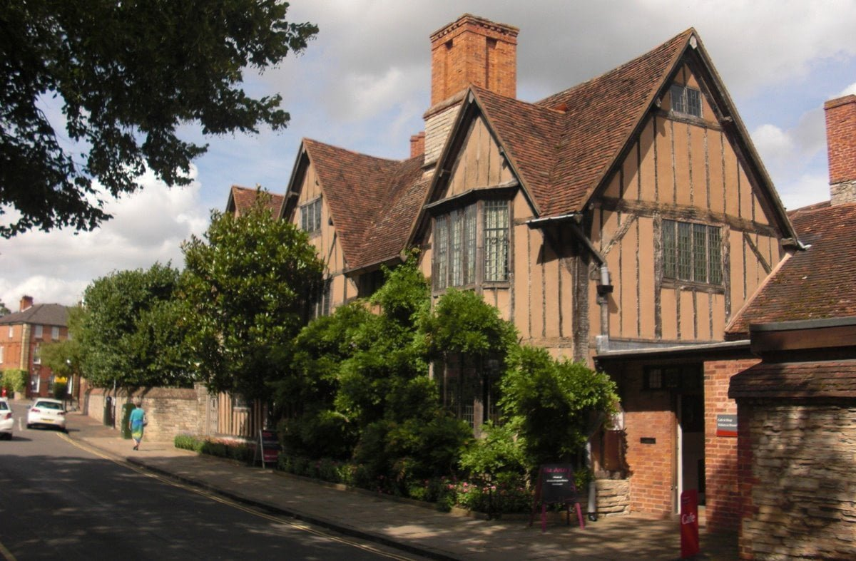 The house known as Hall's Croft in Stratford-upon-Avon, which was Shakespeare's daughter's residence after his death.