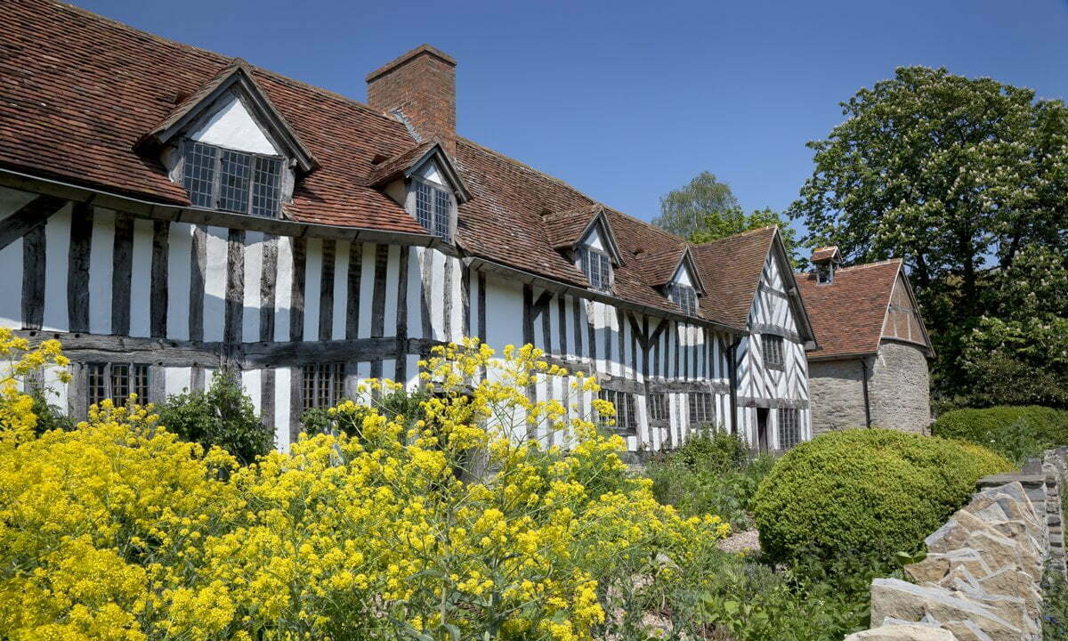 The childhood home of Shakespeare's mother, Mary Arden.