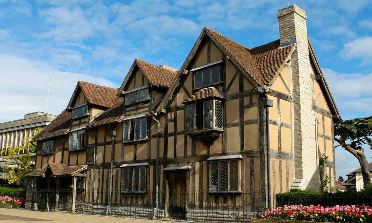 Shakespeare's birthplace in Stratford-upon-Avon, Warwickshire.